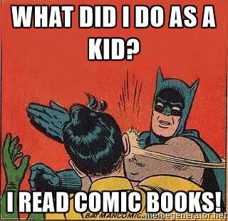 read comic meme