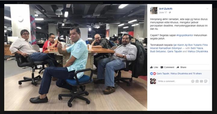 ngopi di kantor