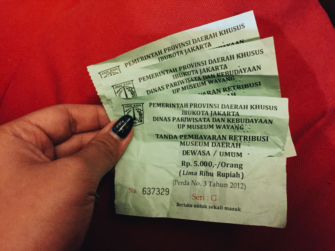 tiket museum wayang