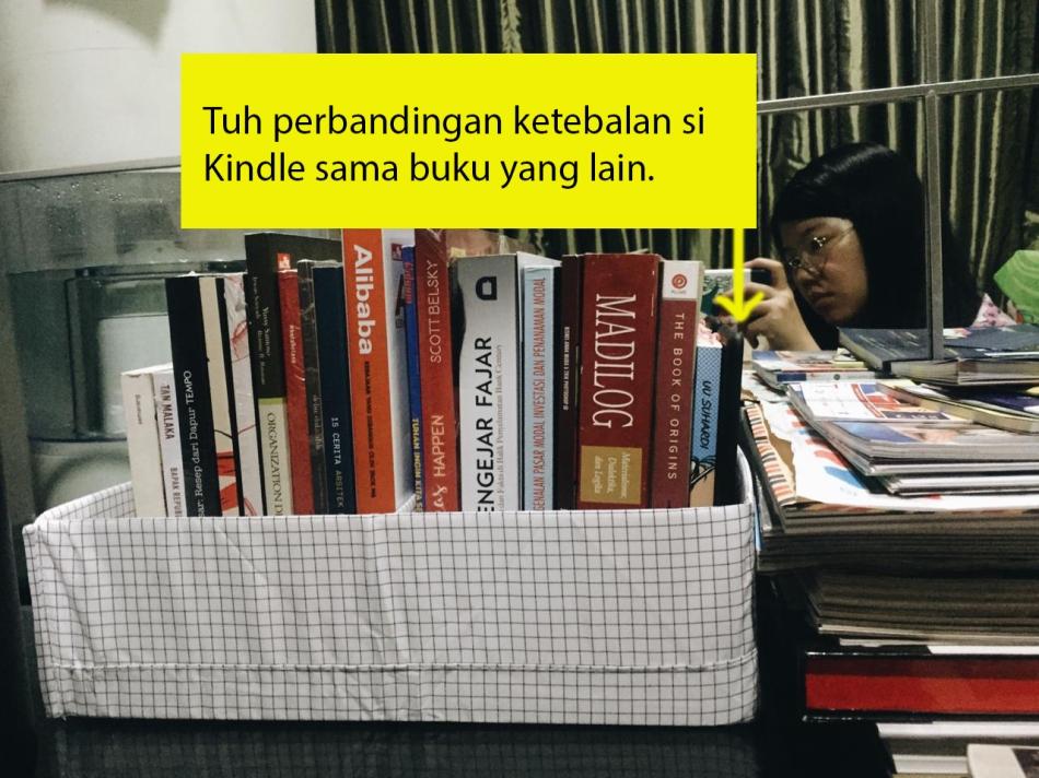 Ukuran Kindle