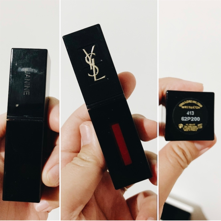 YSL Vynil Cream Lip Stain no.413 Bourgogne Alternative