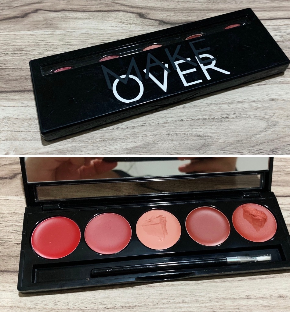 Make Over Lip Pallete
